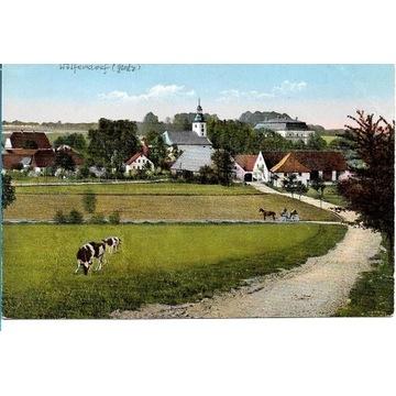 Wilkanów, (Wolfelsdorf)