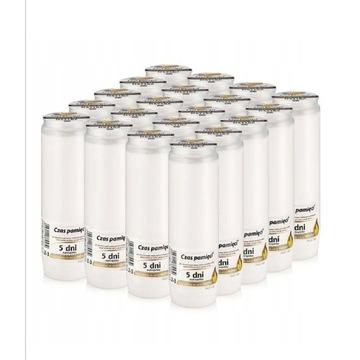 Wkłady olejowe do zniczy Z3 5DNI 20szt LAURKLIENTA