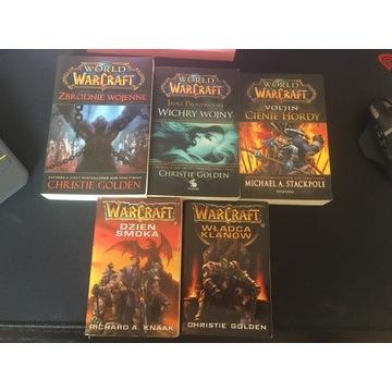 WORLDofWARCRAFT Dzień smoka/Wichry wojny-5 książek