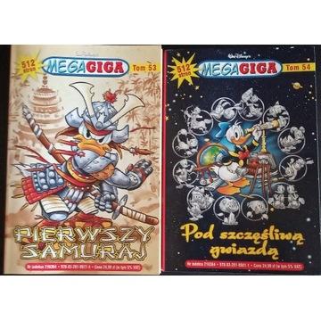 Komiks MEGA GIGA tom 53 i 54 (rocznik 2020)