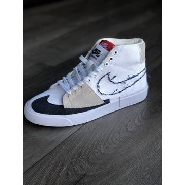 Nike SB Blazer Mid Edge buty r.41 białe