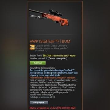 AWP (StatTrak) | BUM/SKIN/CS'GO