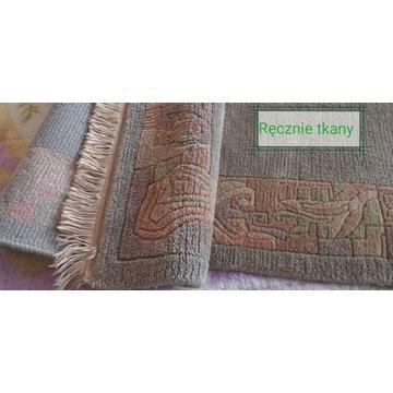 Dywan z Indii, ręcznie tkany 100%wełny owcz 167/94