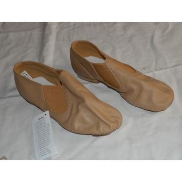 jazzówki SANSHA moderno buty tańca cieliste NOWE