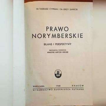 Prawo norymberskie