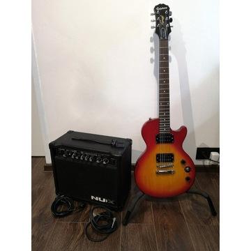 Gitara Epiphone + wzmacniacz Frontline 15