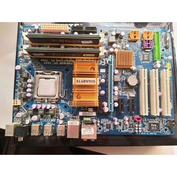 Core 2 Duo E7300/ 4gb(2x2( 1066Mhz/ GA-EP35-DS3