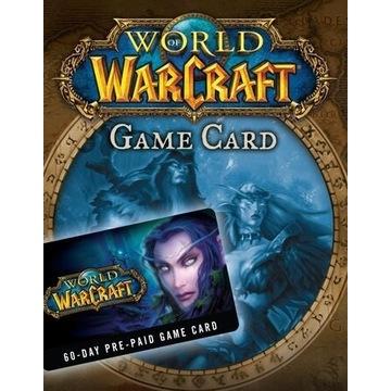 WORLD OF WARCRAFT - PREPAID 60 - WOW - BATTLE.NET