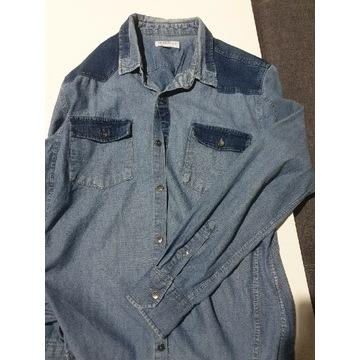 Koszulka Jeansowa Reserved XL