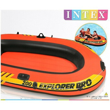 Nadmuchiwana łódka Intex