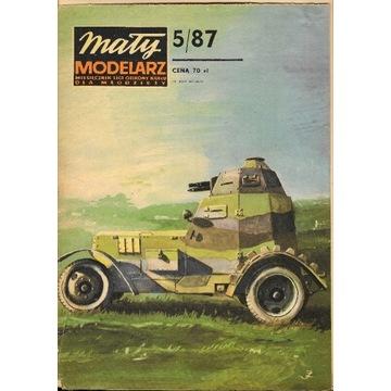 Mały modelarz 5 1987 Samochody pancerne wz. 34, 29