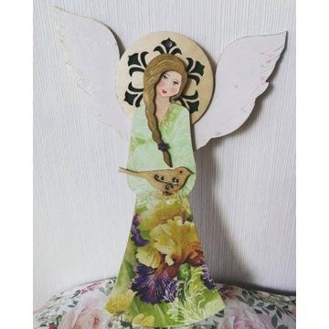 Aniołek wiszący duży - 28 cm