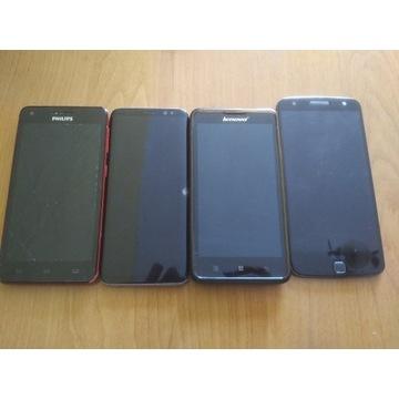 Lenovo Motorola Samsung Philips USZKODZONE