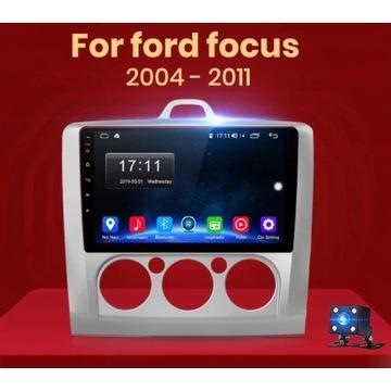 Android RADIO FORD FOCUS 2004 - 2011 KAMERA GPS WI