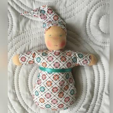 lalka waldorfska dla niemowlaka