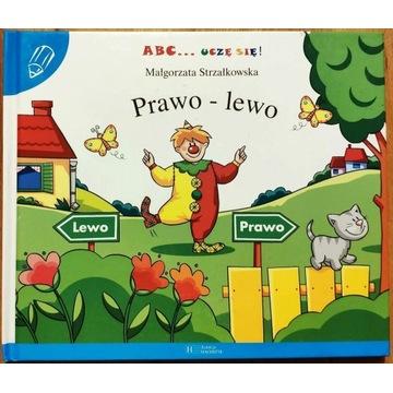 ABC UCZĘ SIĘ PRAWO LEWO Strzałkowska