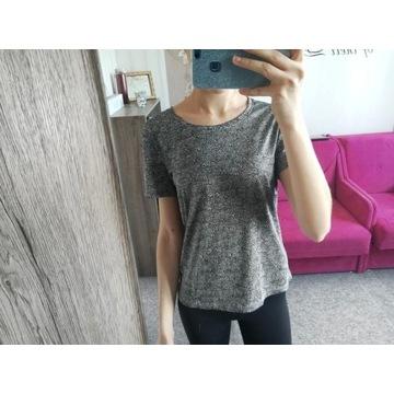 koszulka bluzka szara sportowa S