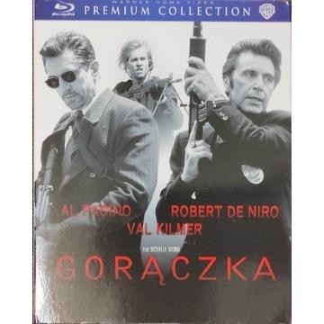 """Film """"Gorączka"""", Blu-ray PL"""