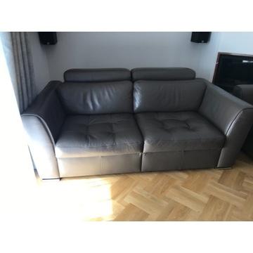 Skórzana kanapa i fotel na sprzedaż