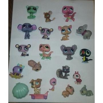 20 szt. Littlest Pet Shop figurka zestaw figurki