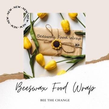 Woskowijki Zero waste beeswax owijki do żywności