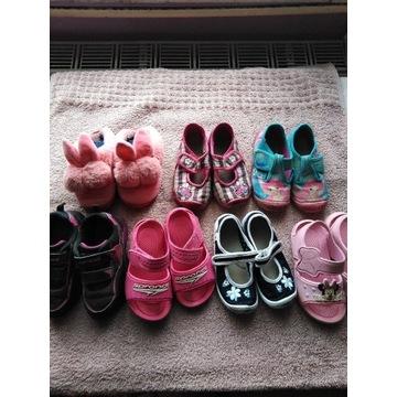 Adidasy sandałki kapcie 26 dla dziewczyni