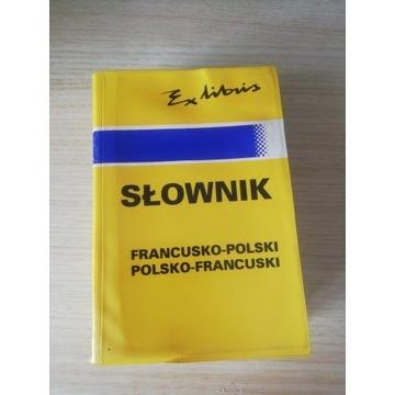 Słownik języka francuskiego ex libris