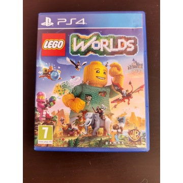 Gra PS4 Lego Worlds Polska wersja