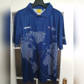 Sportowa koszulka polo DHL Susie Goodall Racing M