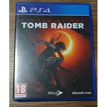 Gra PS4 Shadow od the Tomb Raider PL Idealny stan