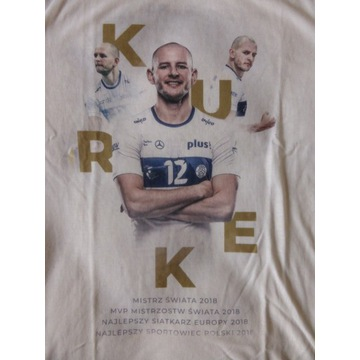 *Koszulka t-shirt Bartosz KUREK FAN rozm. S* NOWA