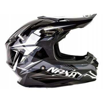 Wyprzedaż Koszalin Kask Naxa XL Motocross Off Road