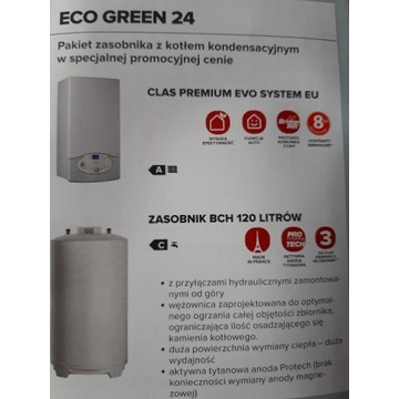 Ariston pakiet ECO Green Clas EVO  premium 24