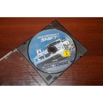 Need for Speed: Shift PS3 (sama płyta) BCM!