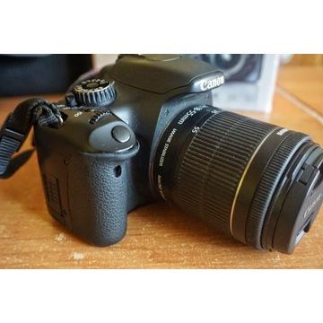 Canon 550 D - Dużo dodatków - OKAZJA !!!