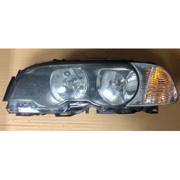BMW E46 COUPE LAMPA LEWA 0301157611 Przedlift