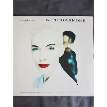 Eurythmics- We Too Are One LP Vinyl