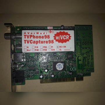 Karta tuner tv AverMedia TV Phone Tv Capture