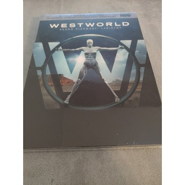 Westworld sezon 1 DVD x3
