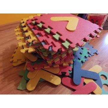 Zestaw puzzli piankowych 35 elementów