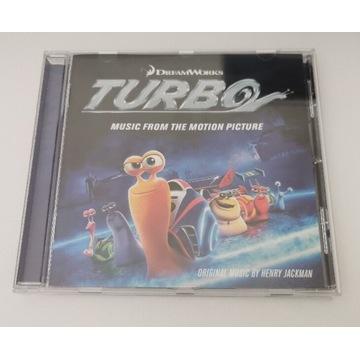 Płyta z muzyką z filmu Turbo.