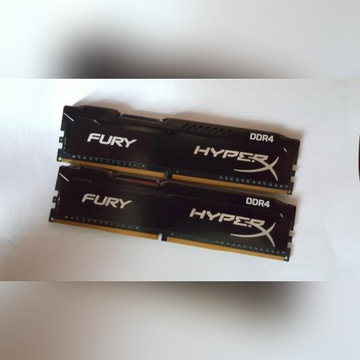 Kości ram Hyperx ddr4 2133MHz 2x4gb