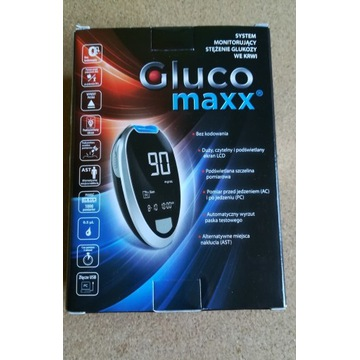 Glukometr  Glucomaxx NOWY!