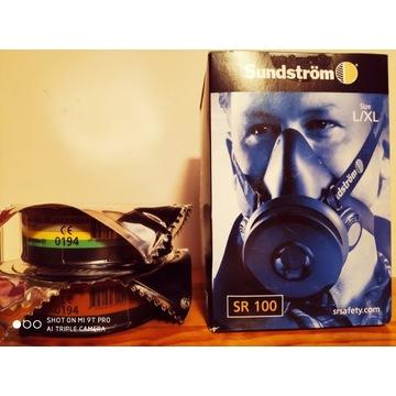 Maska lakiernicza Sunstrom SR100 + filtr