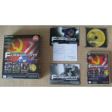 Operation Flashpoint -Platynowa +AudioCD -duży BOX
