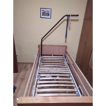 Łóżko rehabilitacyjne medyczne regulowane elektryc