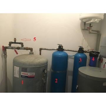 Kompletny system odżelaziania wody. Odżelaziacz