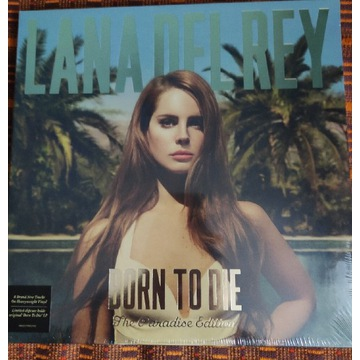 LANA DEL REY Born To Die The Paradise Edition
