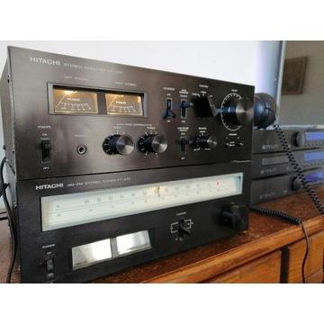 zestaw stereo Hitachi HA270+Tuner FT270 100%