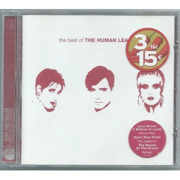 HUMAN LEAGUE - The Best Of - CD Europe UNIKAT